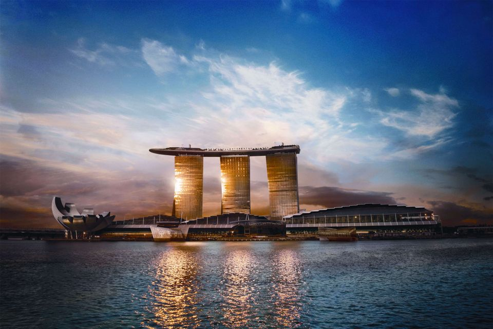 Marina Bay Sands Expo and Convention Centre in Singapore