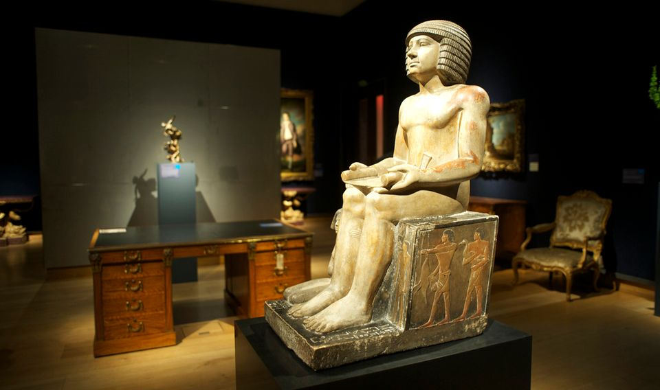 The Ancient Egyptian Sekhemka statue