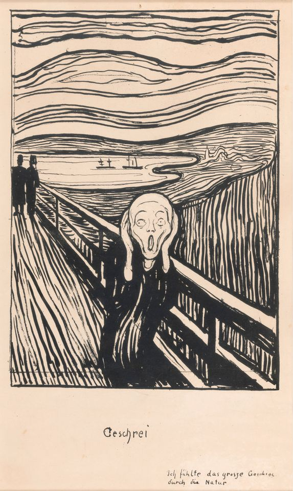 Edvard Munch, The Scream (1895)