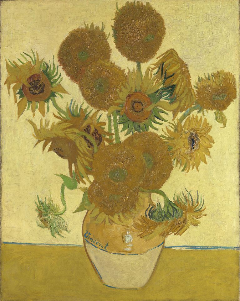Van Gogh's Sunflowers (1888) in the National Gallery is going to Japan