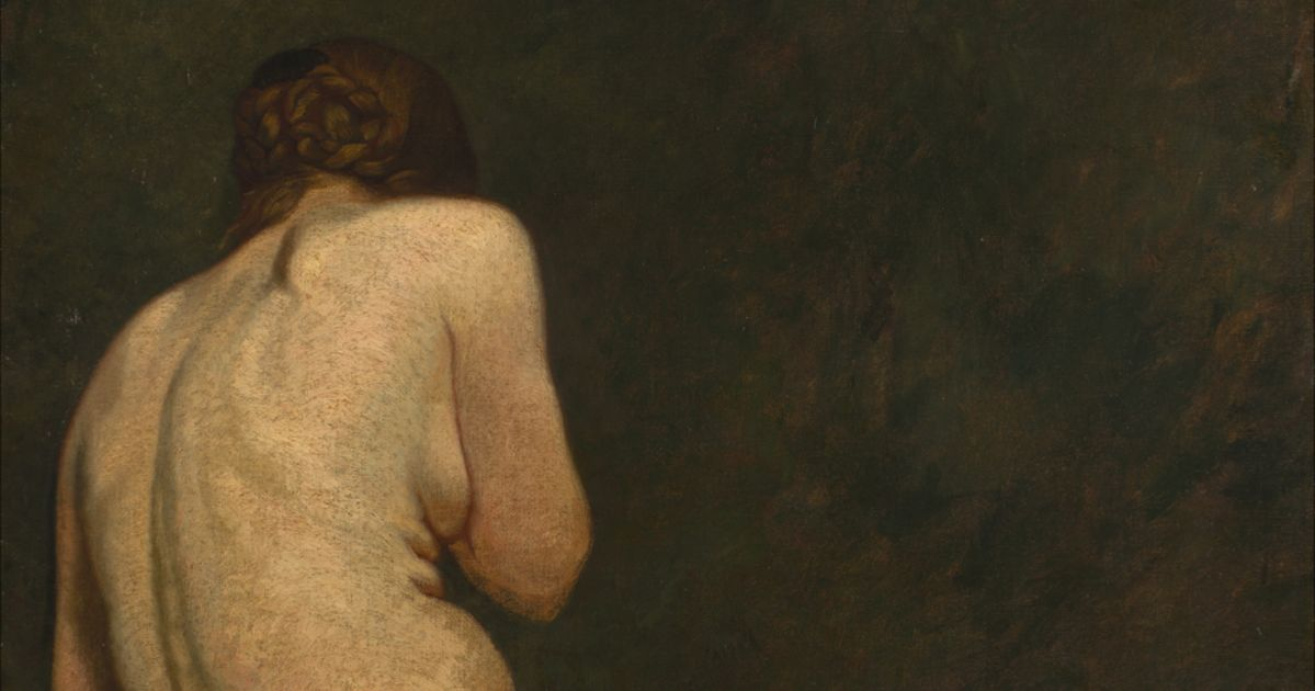 Who painted the mystery nude in the Van Gogh brothers' collection?