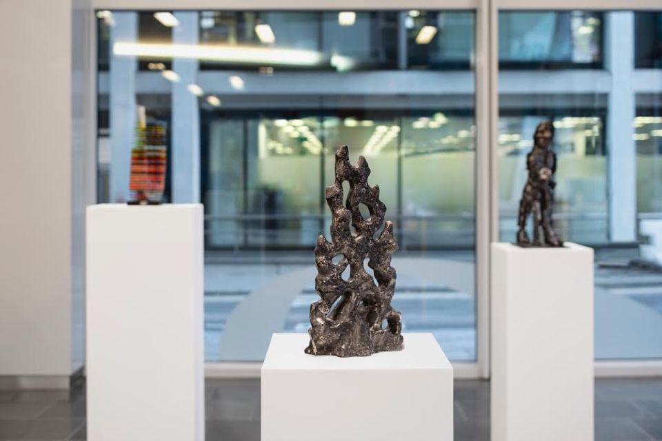 A selection of work from Hornby's show at Pinsent Masons