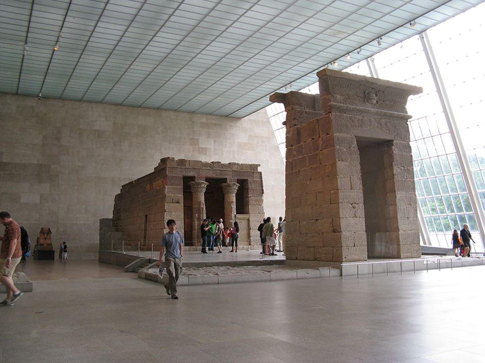 The Met's Sackler Wing houses the Temple of Dendur
