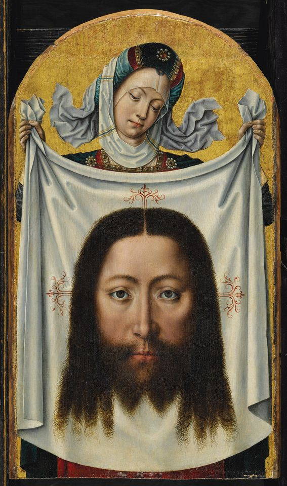 Musea Brugge has acquired Saint Veronica with the Sudarium (around 1500), an oil on oak panel painting by the Master of the Legend of Saint Ursula. The city of Bruges approved the purchase for $650,000 from a US collection, a private sale through Sotheby's in New York, last December. The anonymous master was active in Bruges in the late 15th century and is identified with his altarpiece for the city's Augustinian convent, which is now in the Groeningemuseum. The new acquisition portrays Saint Veronica, the compassionate bystander who, according to medieval Catholic lore, offered Christ her veil to wipe his face on the way to Calvary. The painting is due to go on show at the Groeningemuseum in March.