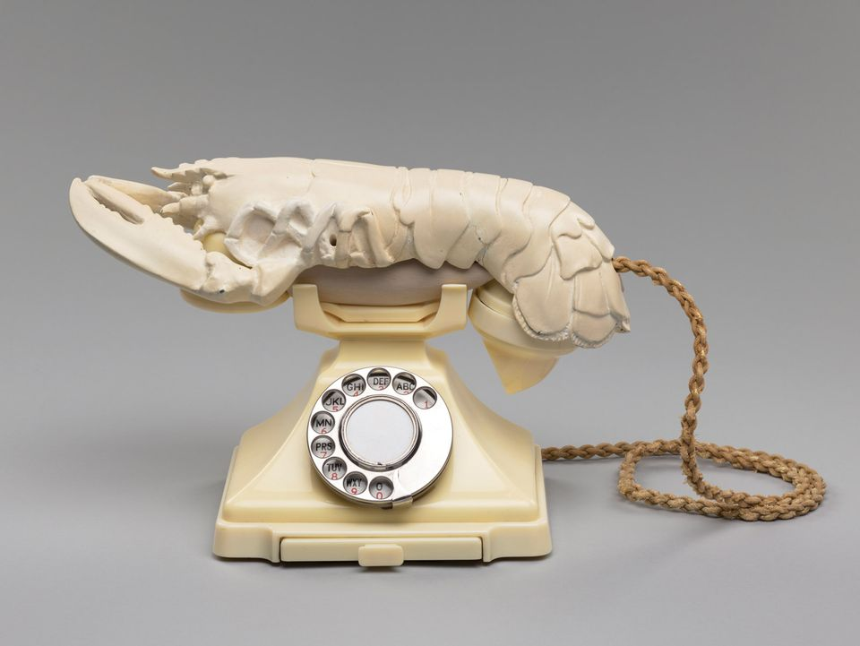 National Galleries of Scotland, Edinburgh. Salvador Dalí's Lobster Telephone: National Galleries of Scotland has purchased one of the Surrealist movement's most recognisable found-object sculptures. Last March, the UK government deferred the export licence for Salvador Dalí's white Lobster Telephone (White Aphrodisiac) (1938) to give  a UK museum time to match the £853,000 bid from a private foreign buyer at Christie's. The sculpture is one of 11 bizarre assemblages of plaster lobster receivers fitted to working telephones that Dalí created for the private residences of Edward James, his English patron in the 1930s. The acquisition, which was supported by National Galleries' Henry and Sula Walton Fund and a £100,000 grant from the Art Fund, is now on view at the Scottish National Gallery of Modern Art in Edinburgh