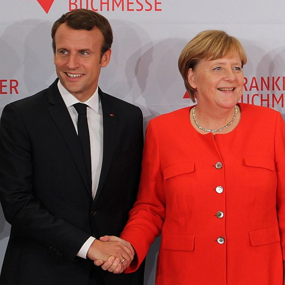 """The culture institutes are part of the """"Aachen Treaty,"""" a Franco-German friendship accord signed by Chancellor Angela Merkel and President Emmanuel Macron on January 22"""