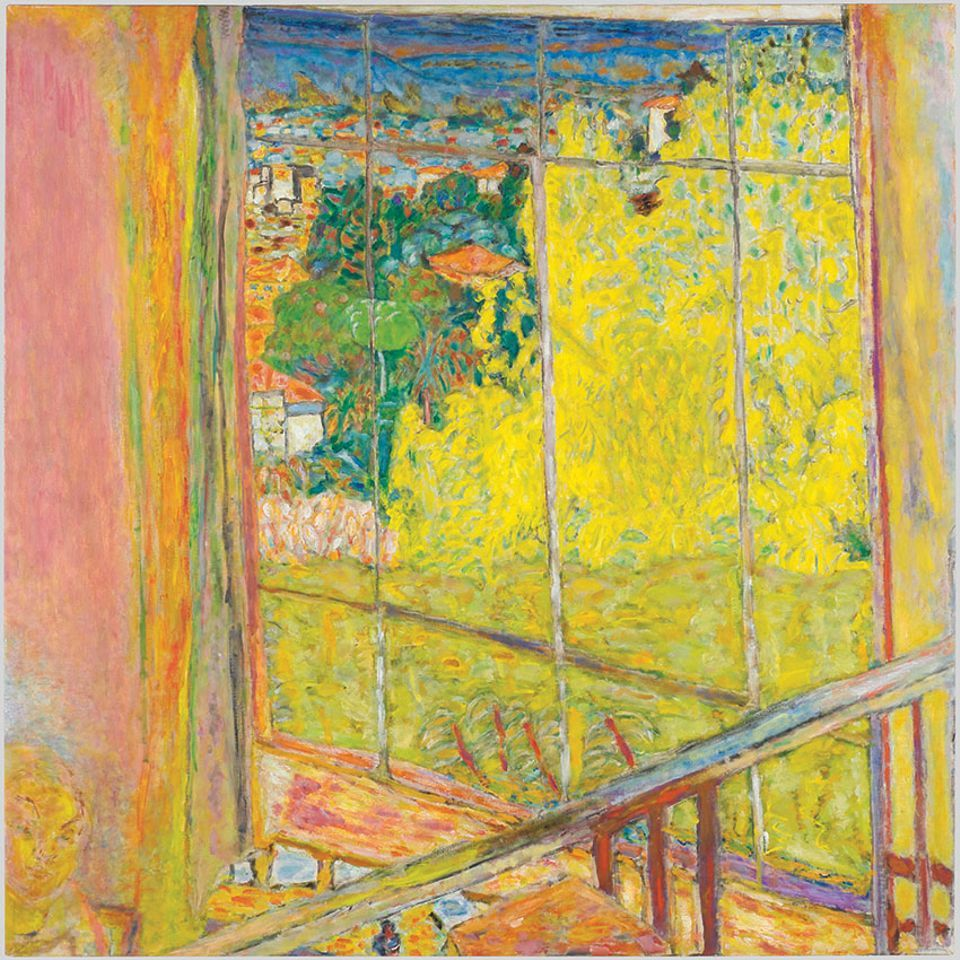 Pierre Bonnard's The Studio with Mimosa (1939-46)