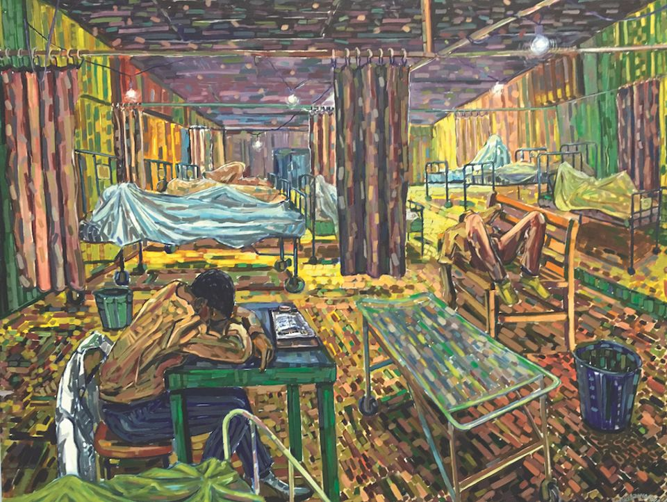 Dying Faculties by Cosmos Shiridzinomwa, one of the artists to represent Zimbabwe in Venice