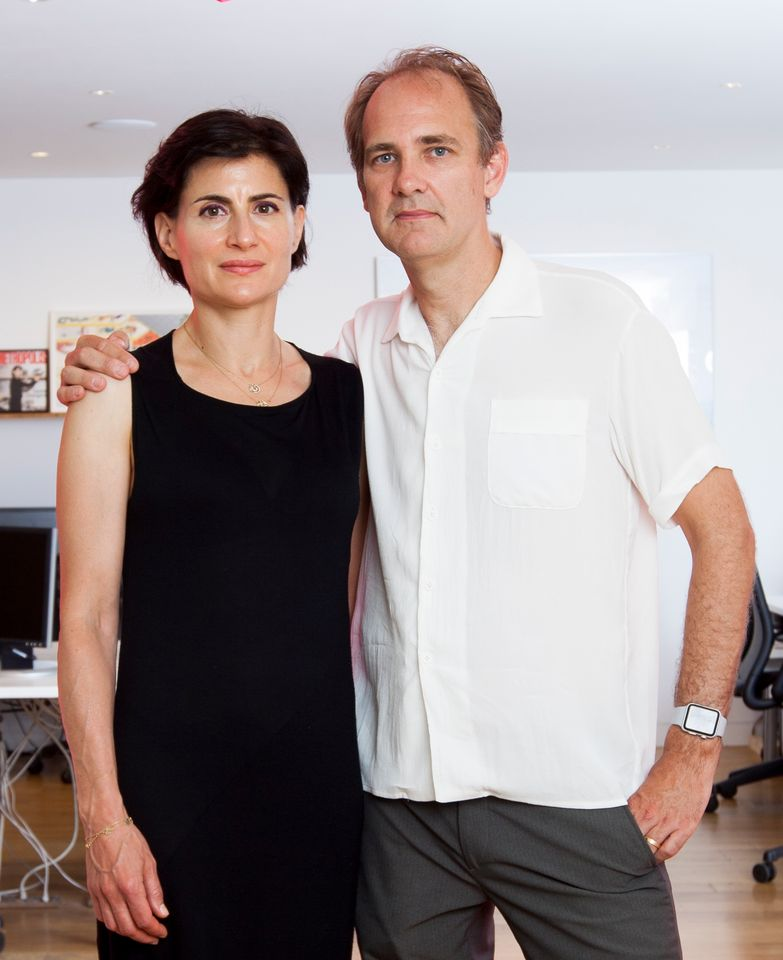 Amale Andraos and Dan Wood, the founders of WORKac