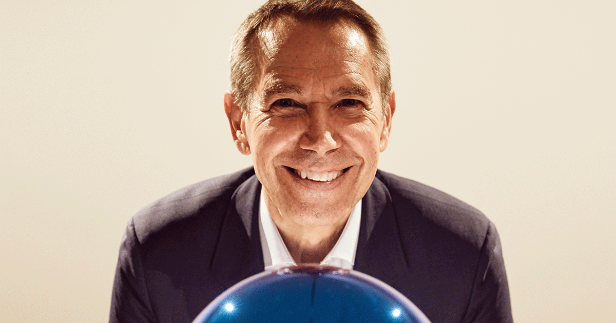 Jeff Koons says computer technology allowed him to downsize his New York studio