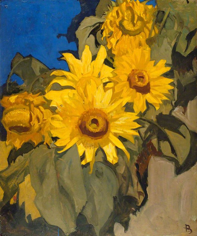 Frank Brangwyn, Sunflowers, 1910s, to be lent to Tate Britain (27 March-11 August), Royal Academy of Arts