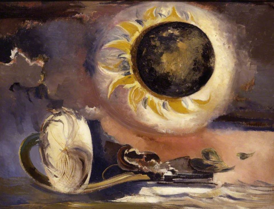 Paul Nash, Eclipse of the Sunflower, 1943, British Council Collection