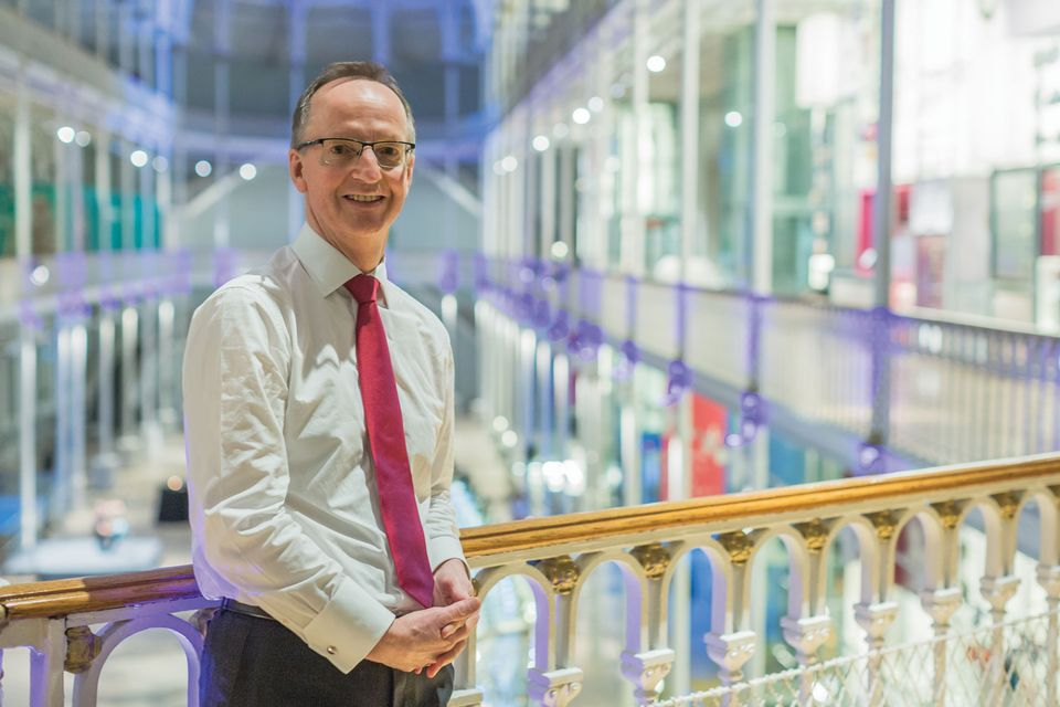 Gordon Rintoul, the director of National Museums Scotland since 2002