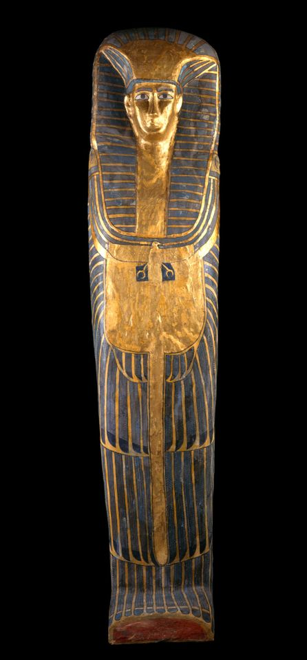 """Coffin of the """"Qurna queen"""""""