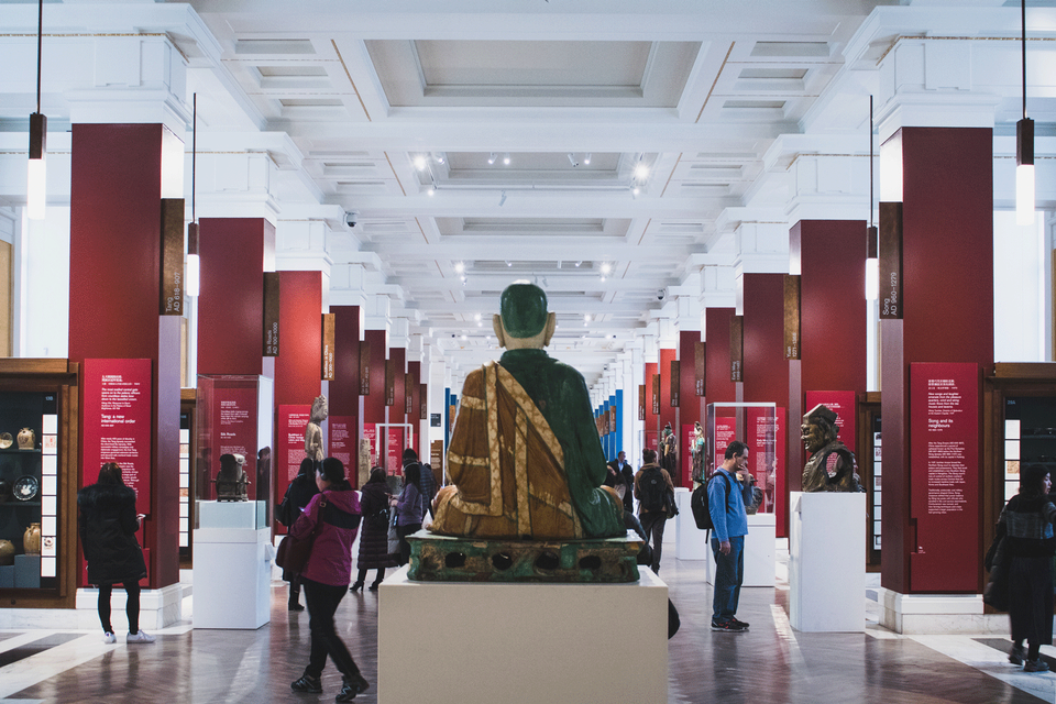 Museums—just places for a bit of peace and quiet?