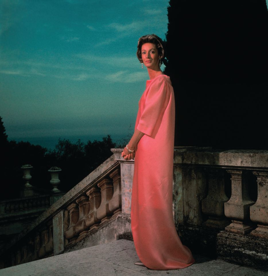 Tribute to Marella Agnelli—doyenne of high society