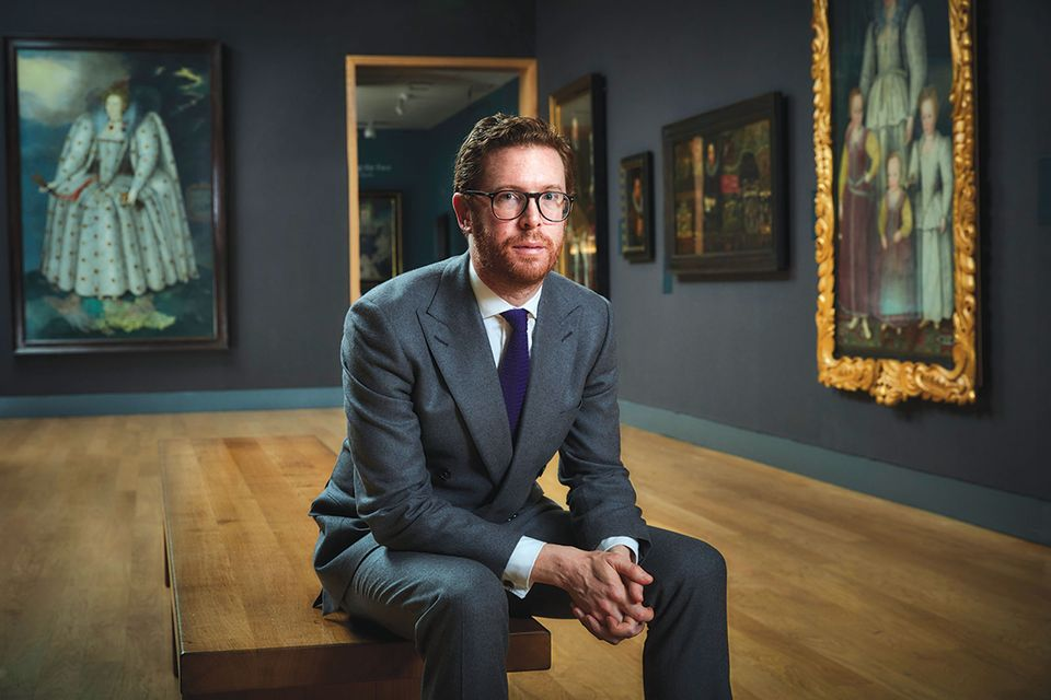 Nicholas Cullinan, the director of the National Portrait Gallery in London