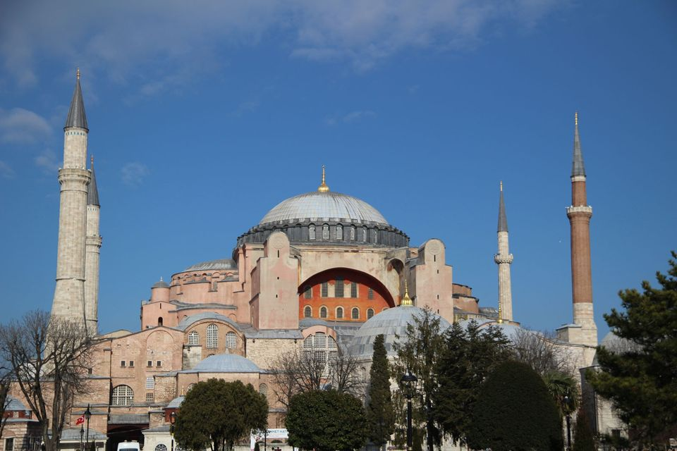 Erdogan Says Museum And Former Cathedral Hagia Sophia Will Become A
