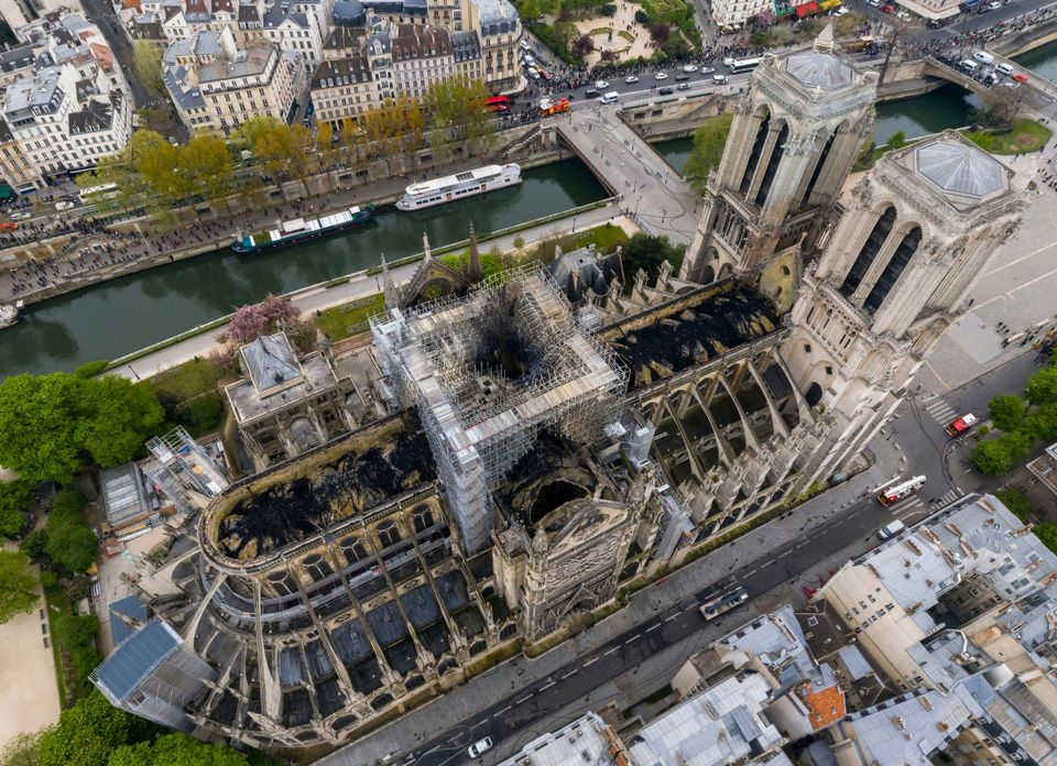 Donations pour in to help rebuild Notre Dame