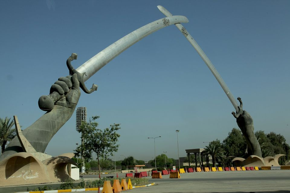 Swords of Qādisīyah, Hands of Victory in Baghdad, Iraq