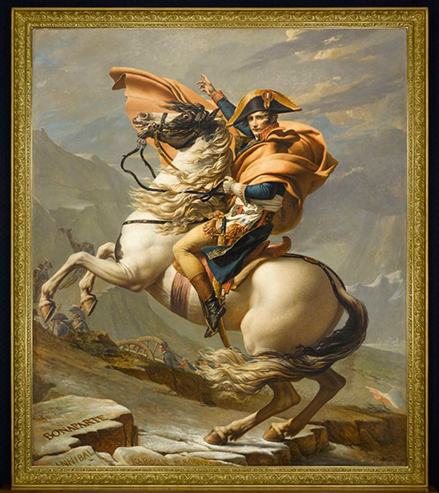 Bonaparte comes to Brooklyn: Napoleonic paintings by Kehinde Wiley and Jacques-Louis David to be united