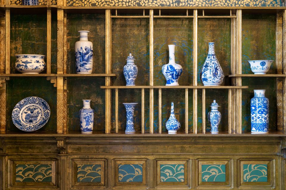 The Smithsonian presents Whistler's Peacock Room as the artist envisioned it