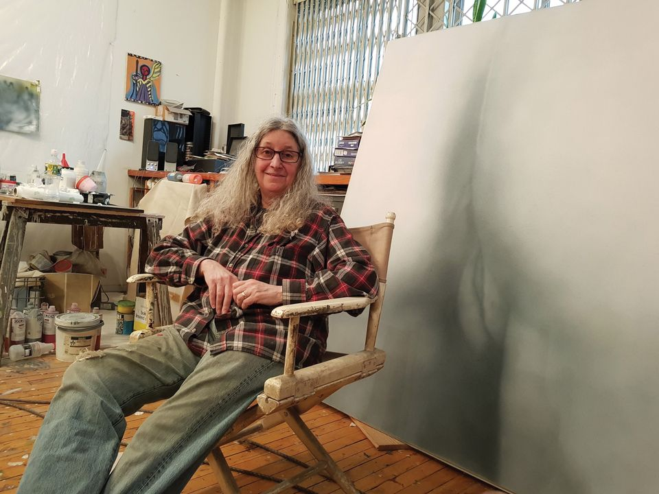 Betty Tompkins was blocked from Instagram after posting one of  her sexually explicit works