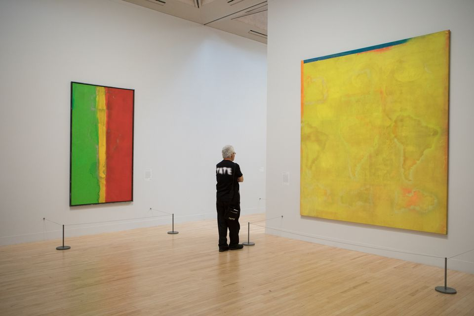 Frank Bowling's exhibition at Tate Britain, The Possibilities of Paint are Never-Ending