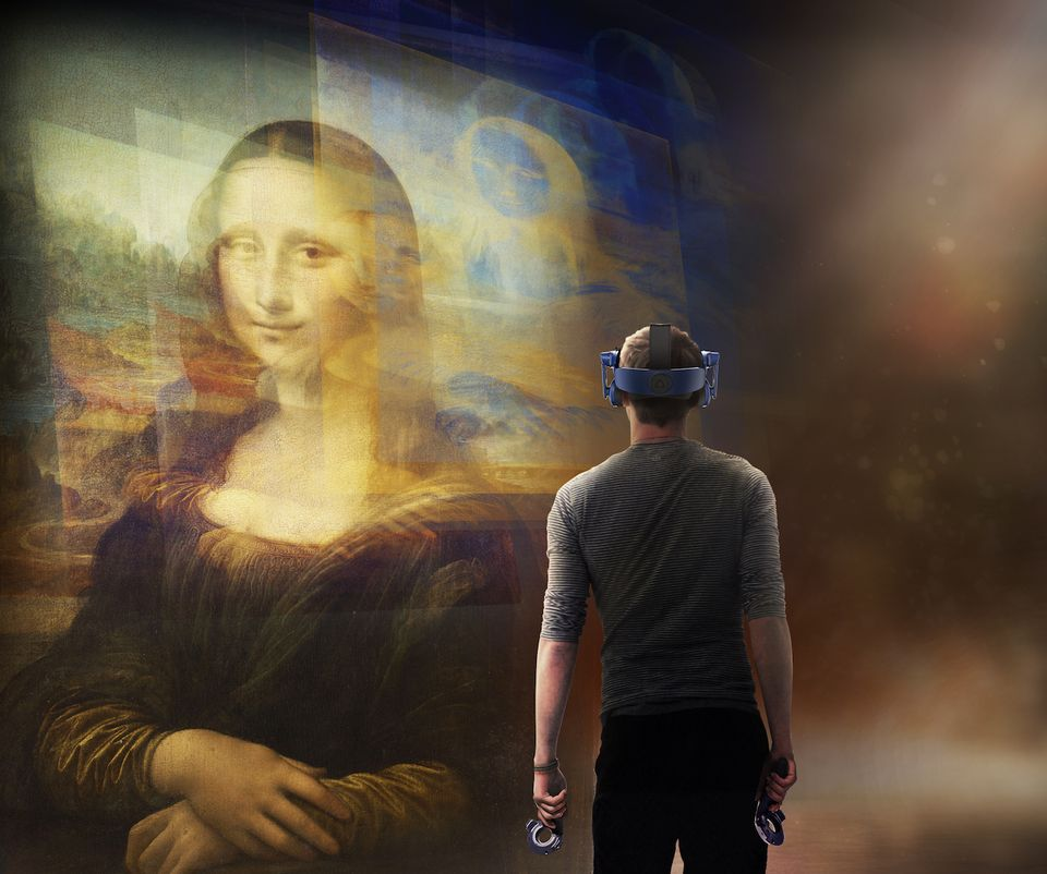 Mona Lisa like you've never seen her before: Louvre to use VR for first time in Leonardo centenary show