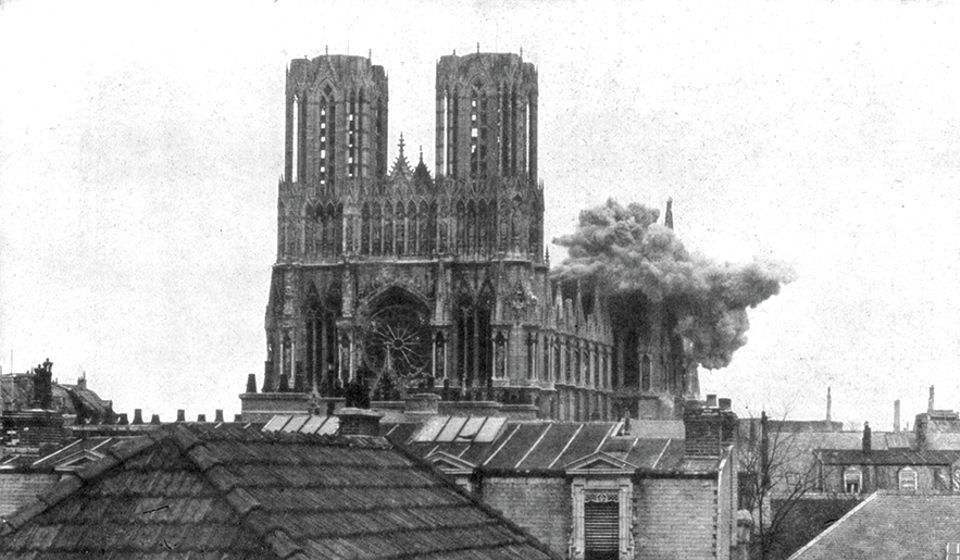 How Rheims Cathedral's destruction in the First World War had a happy ending