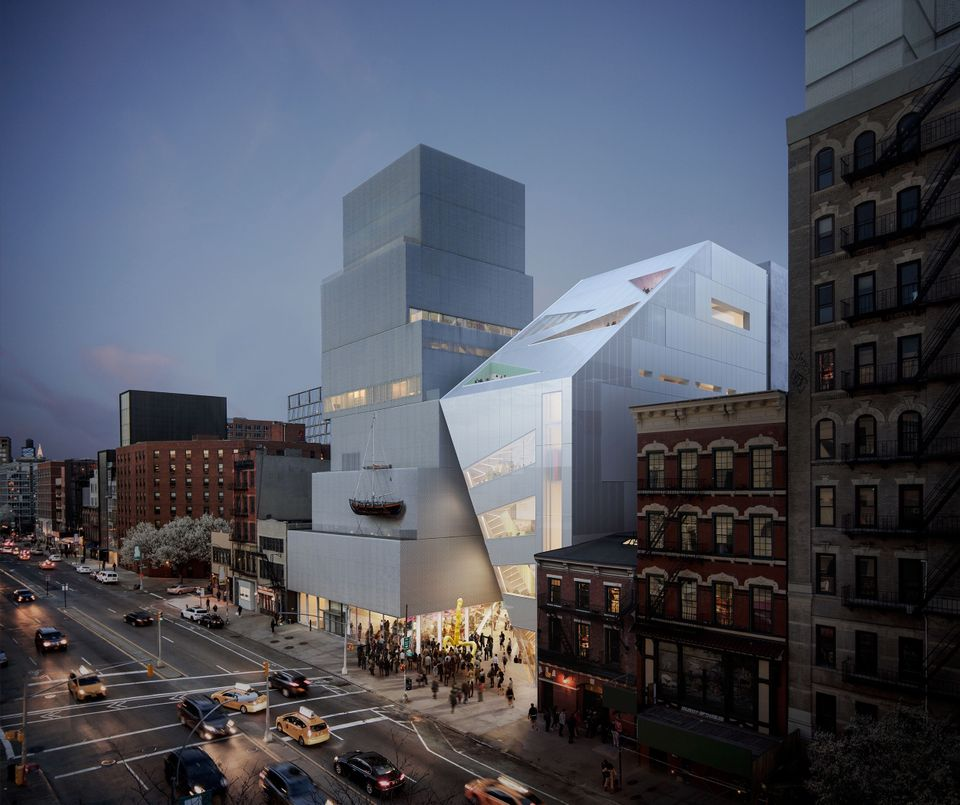 New Museum unveils Rem Koolhaas design for addition