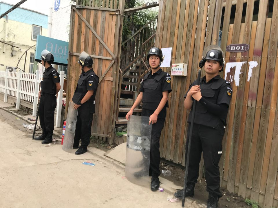 Two Beijing art districts abruptly evicted to make way for demolition