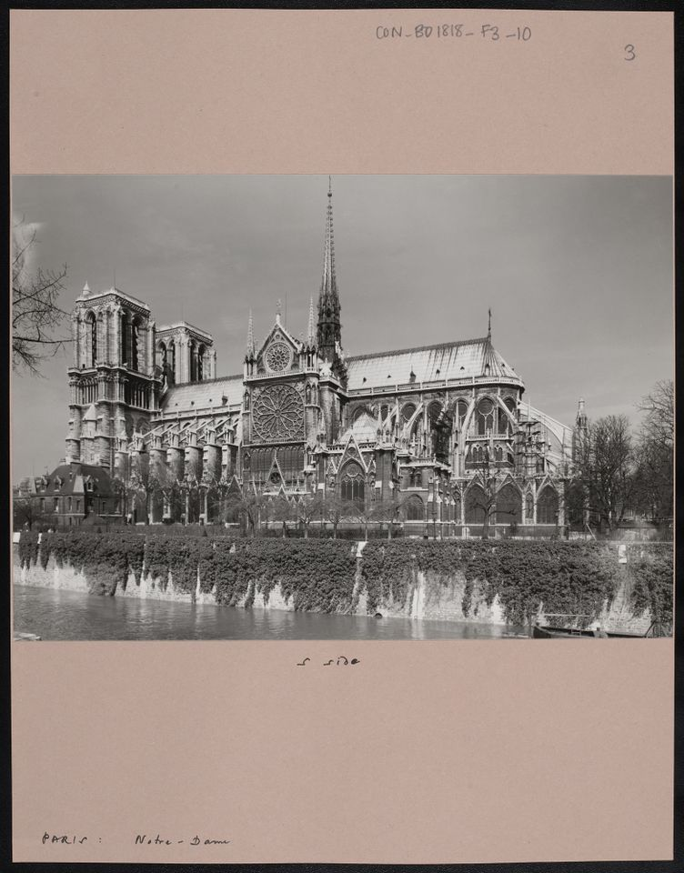 In Pictures: recently released photos show the past 200 years of Notre Dame