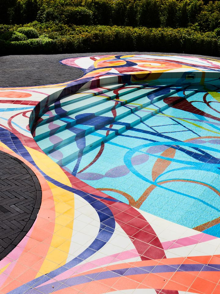 In pictures: Escape the heat with this Joana Vasconcelos-designed pool