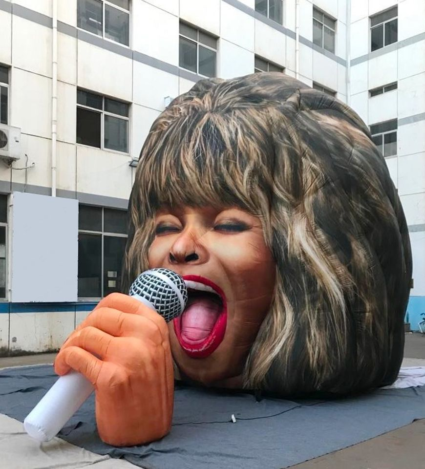 Blow-up Tina Turner comes to Margate in time for the Turner Prize