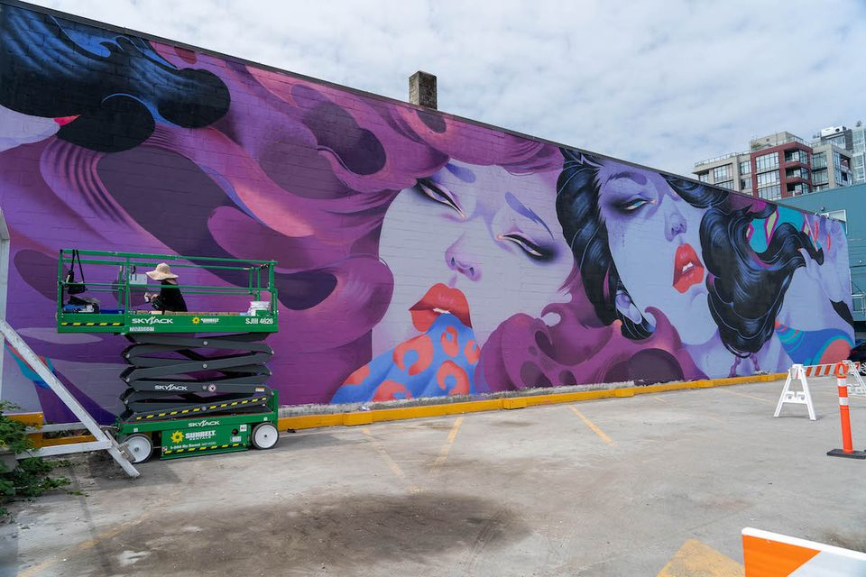 Vancouver Mural Festival splashes colour on the streets