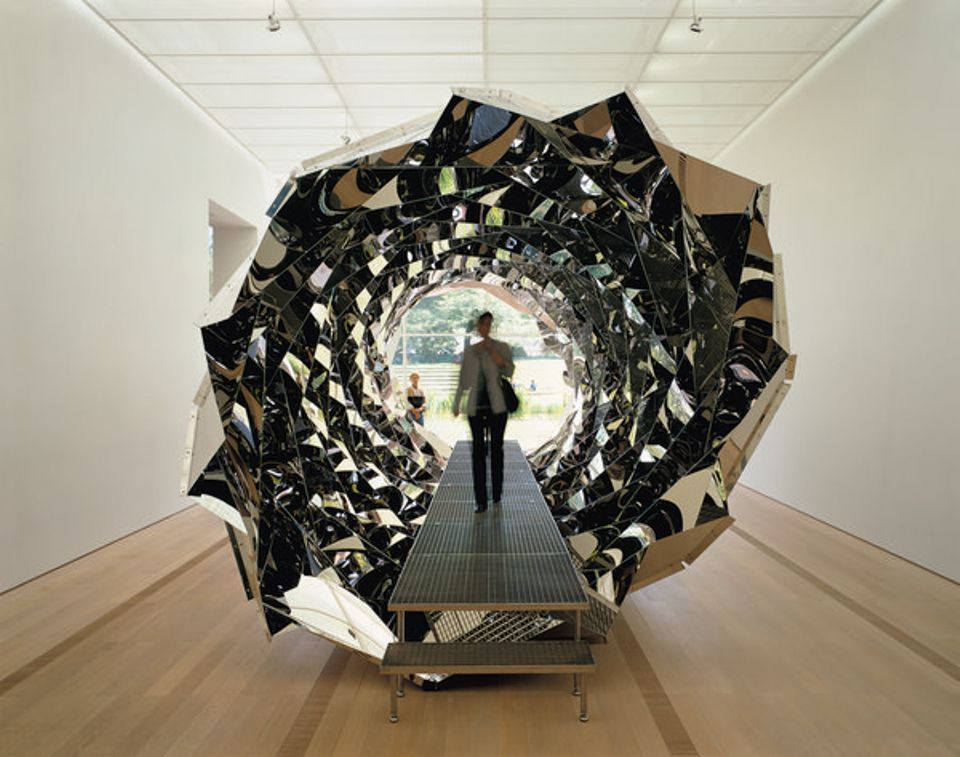 Olafur Eliasson's Your Spiral View (2002), on display at Tate Modern, is only accessible by stairs