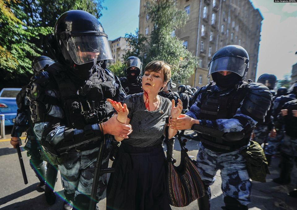 The artists at the forefront of Russia's democracy protests
