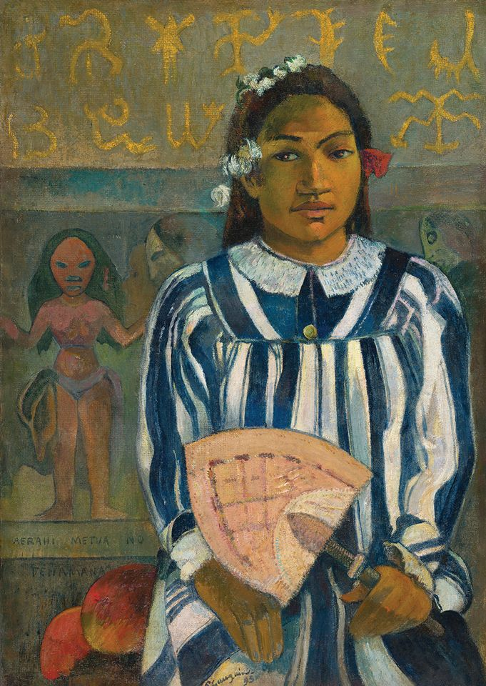 Gauguin's Tahitian lover may be more fantasy than reality