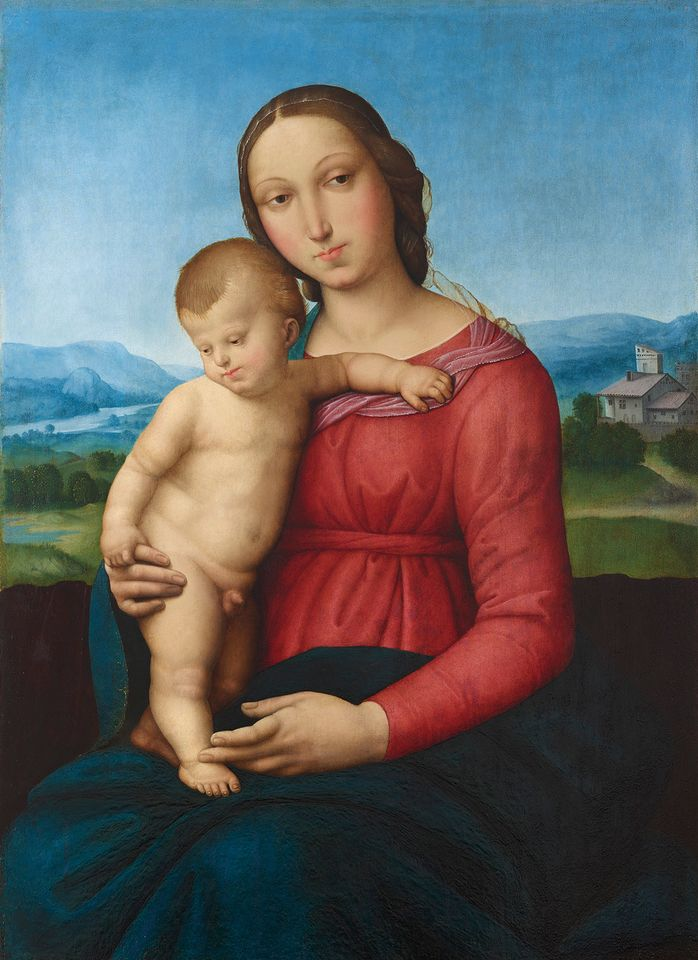 Madonna and Child is described by Dorotheum as being by an associate of Raffaello Sanzio, called Raphael, and is estimated at €300,000-€400,000