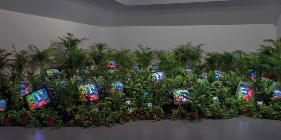 Back to the future: Nam June Paik's chapel and TVs take over at Tate Modern