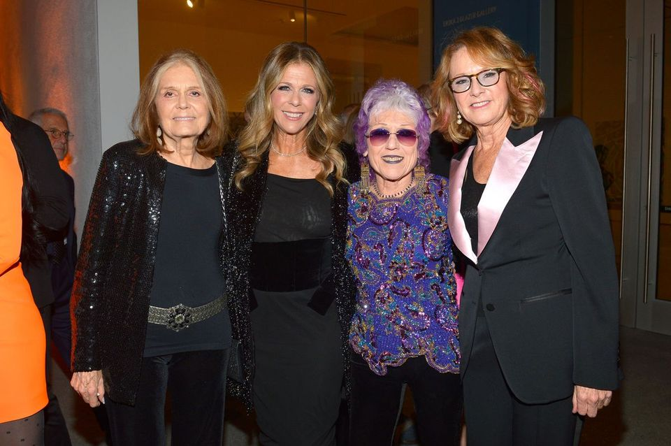 'I can divide my life into before and after Judy Chicago': Gloria Steinem reveals how the artist changed her thoughts about art at Hammer Museum gala