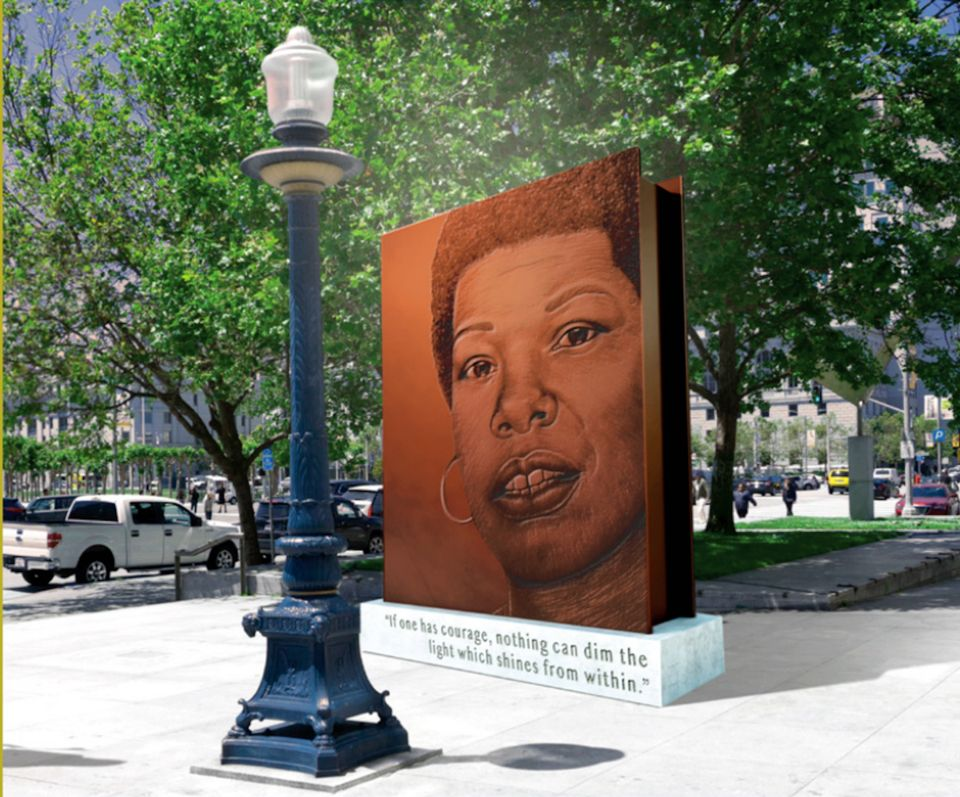 San Francisco selected an artist to create a monument to Maya Angelou—then rejected her