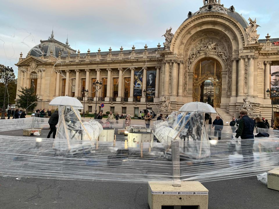 Candy floss floaters and Yayoi Kusama's punctured pumpkin: all the fun of the (Fiac) fair