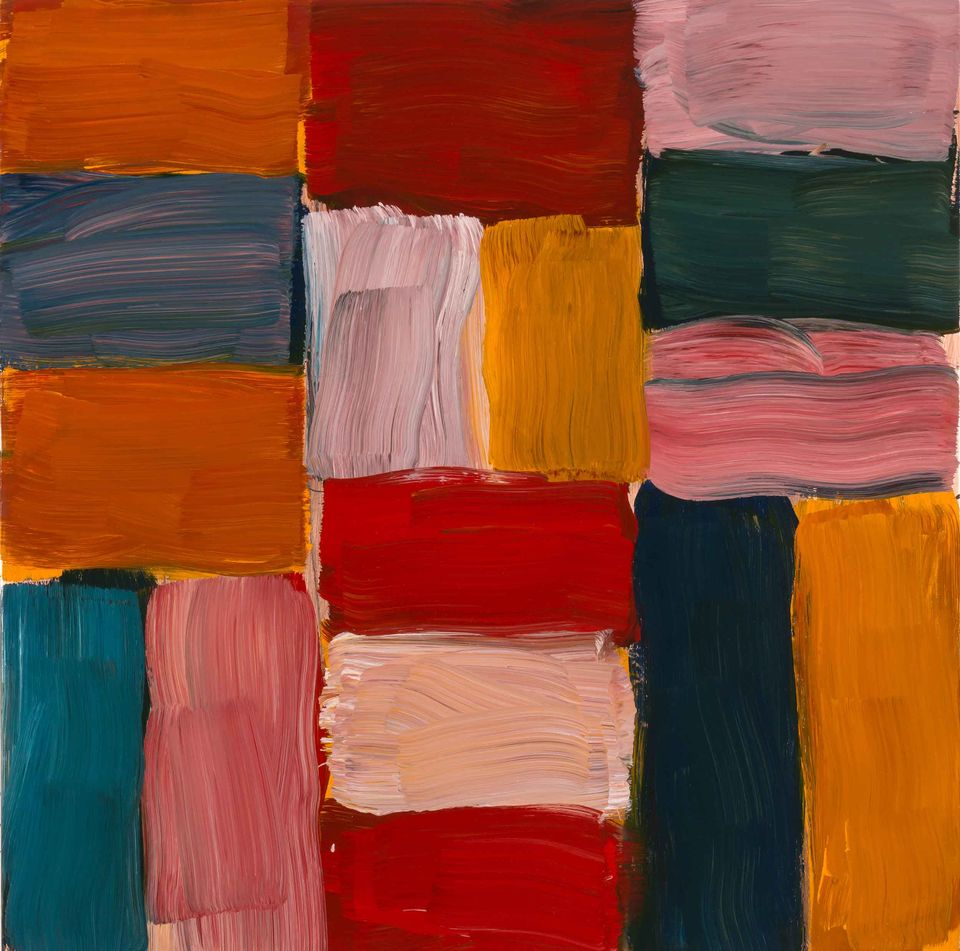 Sean Scully's oil on copper work Wall 30.6.16 (2016) will appear in the St Moritz show