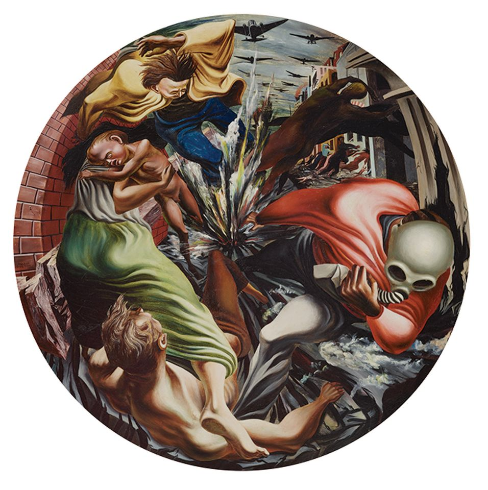 José Clemente Orozco's Mexican Revolution work Barricade (1931) hoto: © The Museum of Modern Art/Licensed by SCALA/Art Resource, NY, Courtesy of the Whitney Museum of American Art; © 2019 ARS, New York/SOMAAP, Mexico City
