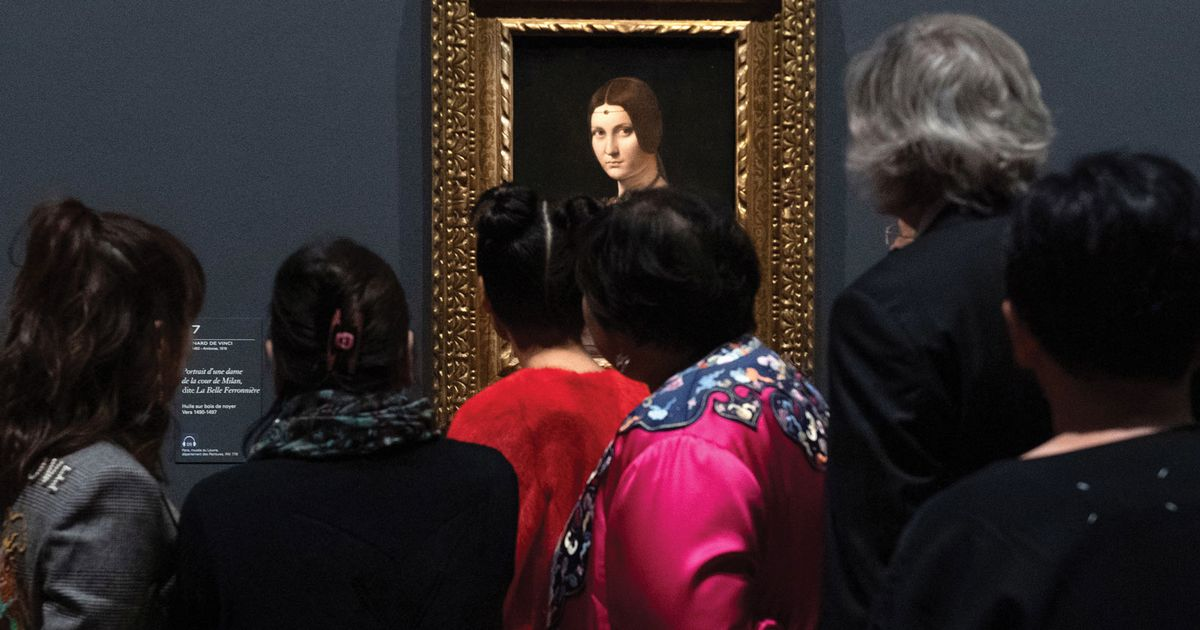 Louvre to open non-stop over closing weekend of Leonardo blockbuster show