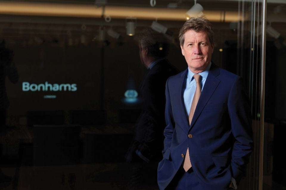 Matthew Girling joined Bonhams in 1988 Courtesy of Bonhams