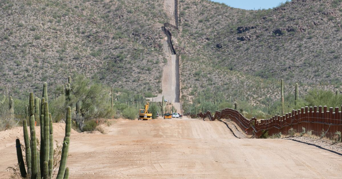 President Trump blows up Native American grave site for his border wall