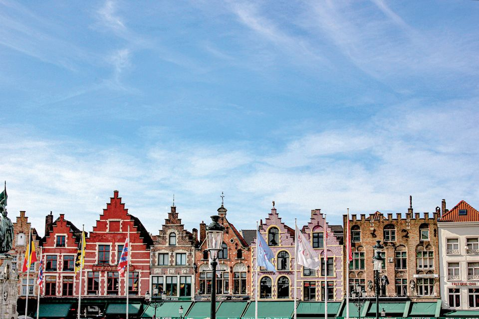 Bruges is a favourite destination for many visiting Maastricht